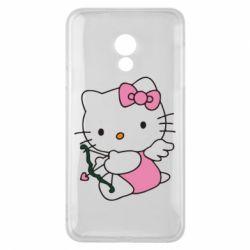 Чехол для Meizu 15 Lite Kitty амурчик - FatLine