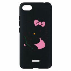 Чехол для Xiaomi Redmi 6A Kitty амурчик - FatLine