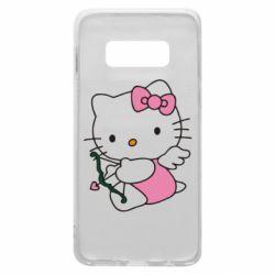 Чехол для Samsung S10e Kitty амурчик