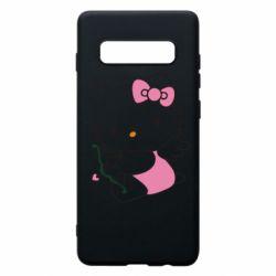 Чехол для Samsung S10+ Kitty амурчик