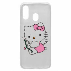 Чохол для Samsung A40 Kitty амурчик
