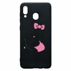 Чохол для Samsung A20 Kitty амурчик