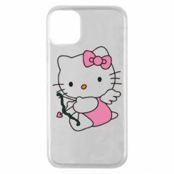 Чохол для iPhone 11 Pro Kitty амурчик