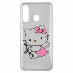 Чехол для Samsung M40 Kitty амурчик