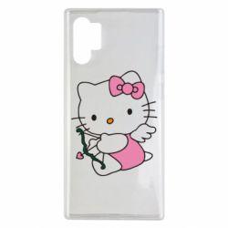 Чохол для Samsung Note 10 Plus Kitty амурчик