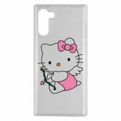 Чехол для Samsung Note 10 Kitty амурчик