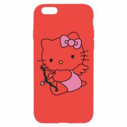 Чехол для iPhone 6/6S Kitty амурчик - FatLine