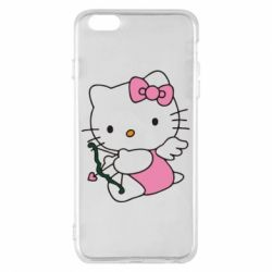 Чехол для iPhone 6 Plus/6S Plus Kitty амурчик - FatLine