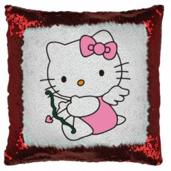Подушка-хамелеон Kitty амурчик