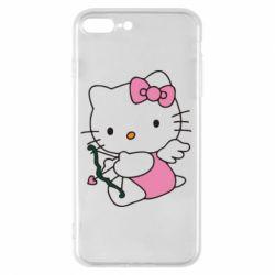 Чехол для iPhone 8 Plus Kitty амурчик - FatLine