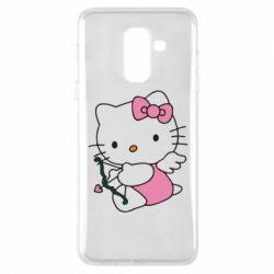 Чехол для Samsung A6+ 2018 Kitty амурчик - FatLine