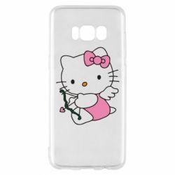 Чехол для Samsung S8 Kitty амурчик - FatLine