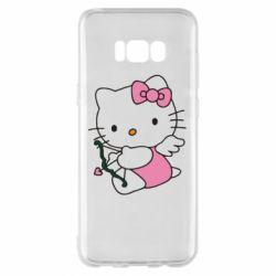 Чехол для Samsung S8+ Kitty амурчик - FatLine