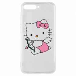 Чехол для Huawei Y6 2018 Kitty амурчик - FatLine