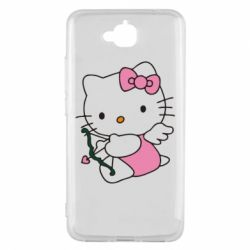 Чехол для Huawei Y6 Pro Kitty амурчик - FatLine