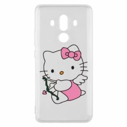 Чехол для Huawei Mate 10 Pro Kitty амурчик - FatLine
