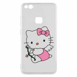 Чехол для Huawei P10 Lite Kitty амурчик - FatLine