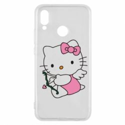Чехол для Huawei P20 Lite Kitty амурчик - FatLine