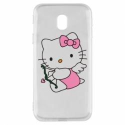 Чехол для Samsung J3 2017 Kitty амурчик - FatLine