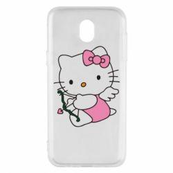 Чехол для Samsung J5 2017 Kitty амурчик - FatLine
