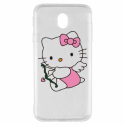 Чехол для Samsung J7 2017 Kitty амурчик - FatLine