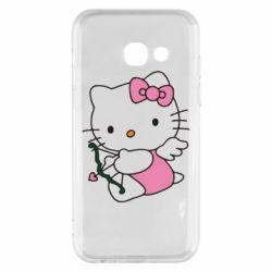 Чехол для Samsung A3 2017 Kitty амурчик - FatLine