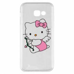 Чехол для Samsung A5 2017 Kitty амурчик - FatLine