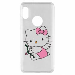 Чехол для Xiaomi Redmi Note 5 Kitty амурчик - FatLine