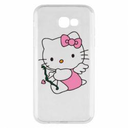 Чехол для Samsung A7 2017 Kitty амурчик - FatLine