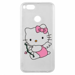 Чехол для Xiaomi Mi A1 Kitty амурчик - FatLine