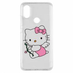 Чехол для Xiaomi Mi A2 Kitty амурчик - FatLine