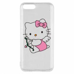 Чехол для Xiaomi Mi6 Kitty амурчик - FatLine
