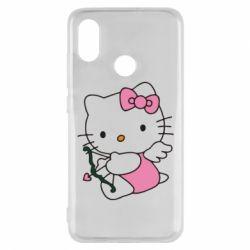 Чехол для Xiaomi Mi8 Kitty амурчик - FatLine