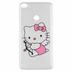 Чехол для Xiaomi Mi Max 2 Kitty амурчик - FatLine