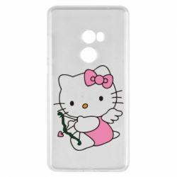 Чехол для Xiaomi Mi Mix 2 Kitty амурчик - FatLine
