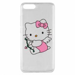 Чехол для Xiaomi Mi Note 3 Kitty амурчик - FatLine