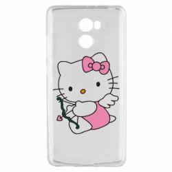 Чехол для Xiaomi Redmi 4 Kitty амурчик - FatLine
