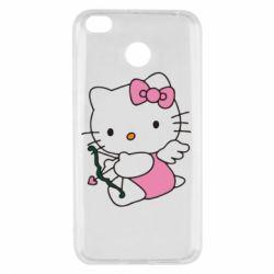Чехол для Xiaomi Redmi 4x Kitty амурчик - FatLine