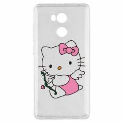 Чехол для Xiaomi Redmi 4 Pro/Prime Kitty амурчик - FatLine