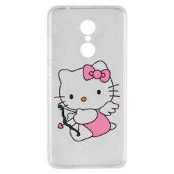 Чехол для Xiaomi Redmi 5 Kitty амурчик - FatLine