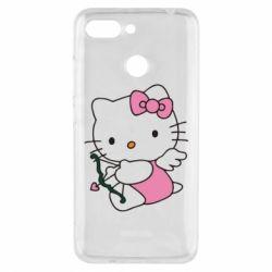 Чехол для Xiaomi Redmi 6 Kitty амурчик - FatLine