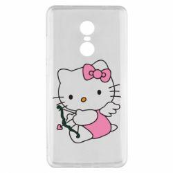 Чехол для Xiaomi Redmi Note 4x Kitty амурчик - FatLine