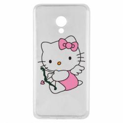 Чехол для Meizu M5 Kitty амурчик - FatLine