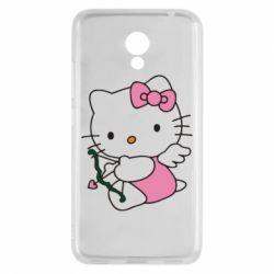Чехол для Meizu M5c Kitty амурчик - FatLine