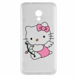 Чехол для Meizu M5s Kitty амурчик - FatLine