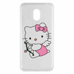 Чехол для Meizu M6 Kitty амурчик - FatLine
