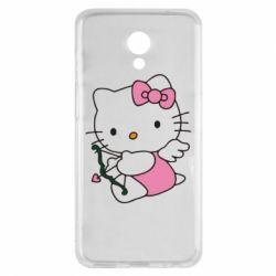 Чехол для Meizu M6s Kitty амурчик - FatLine
