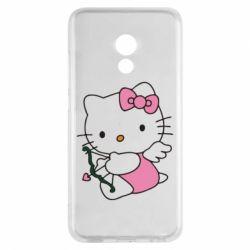 Чехол для Meizu Pro 6 Kitty амурчик - FatLine