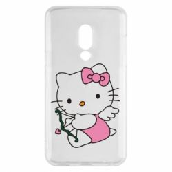 Чехол для Meizu 15 Kitty амурчик - FatLine