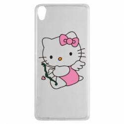 Чехол для Sony Xperia XA Kitty амурчик - FatLine